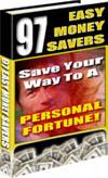 Ebook cover: 97 EASY MONEY SAVERS