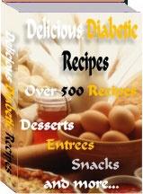 Ebook cover: Delicious Diabetic Recipes