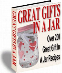Ebook cover: Great Gifts In A Jar