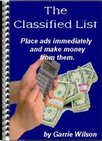 Ebook cover: The Classified List 2004