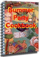 Ebook cover: Summer Party Cookbook