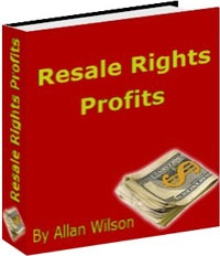 Ebook cover: Resale Rights Profits