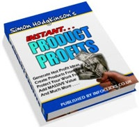 Ebook cover: Instant Product Profits