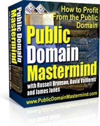 Ebook cover: Public Domain Mastermind