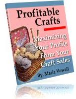Ebook cover: Profitable Crafts v1
