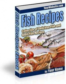 Ebook cover: Fish Recipes