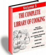 Ebook cover: Cooking Library (volume 5)
