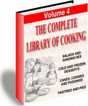 Ebook cover: Cooking Library (volume 4)