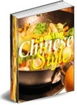Ebook cover: Chinese food recipes