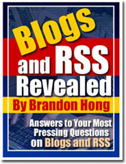 Ebook cover: Blogs And RSS Revealed
