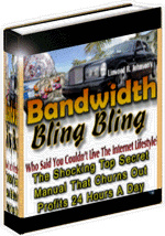 Ebook cover: Bandwidth Bling Bling