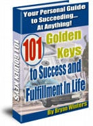 Ebook cover: 101 Golden Keys to Success and Fulfillment In Life