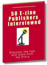 Ebook cover: 50 E-zine Publishers Interviewed
