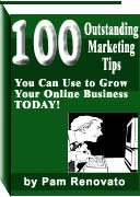 Ebook cover: 100 Outstanding Marketing Tips