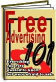 Ebook cover: Free Advertising 101
