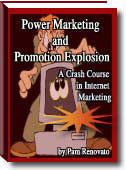 Ebook cover: Power Marketing and Promotional Explosion