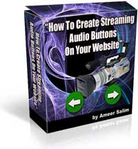 Ebook cover: How To Create Streaming Audio Buttons On Your Website