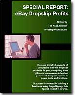 Ebook cover: eBay Dropship Profits!