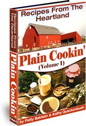 Ebook cover: Plain Cookin', Recipes From The Heartland! v1