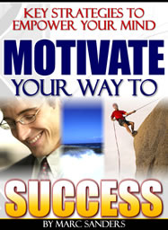 Ebook cover: Motivate Your Way To Success