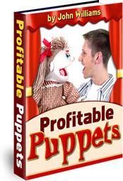 Ebook cover: Profitable Puppets