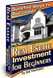 Ebook cover: Real Estate Investment for Beginners