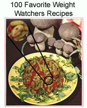 Ebook cover: 100 Favorite Weight Watchers Recipes
