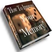 Ebook cover: How to Improve Your Memory