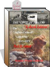 Ebook cover: THE 'LOVE' OF TOLLERS