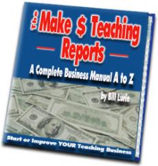Ebook cover: The Make $ Teaching