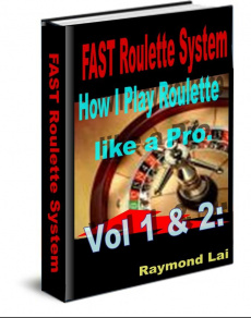 Ebook cover: FAST Roulette System