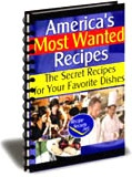 Ebook cover: Americas Most Wanted Low-Carb Recipes