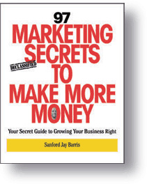 Ebook cover: 97 Marketing Secrets To Make More Money