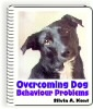 Ebook cover: Overcoming Dog Behaviour Problems
