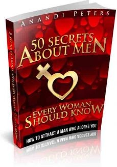 Ebook cover: 50 Secrets About Men Every Woman Should Know