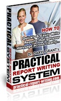Ebook cover: Practical Report Writing System