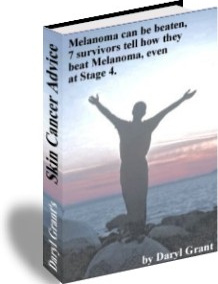 Ebook cover: Skin   Cancer  Advice