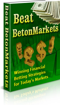 Ebook cover: Beat BetonMarkets