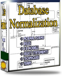 Ebook cover: Database Normalization