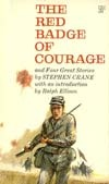 Ebook cover: The Red Badge of Courage