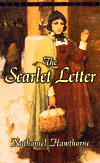 Ebook cover: THE SCARLET LETTER