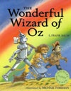Ebook cover: The Wonderful Wizard of Oz