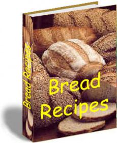 Ebook cover: 500 Bread Recipes