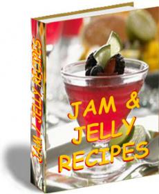 Ebook cover: Jam Recipes