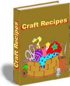 Ebook cover: Craft Recipes