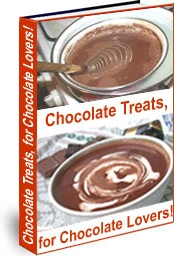 Ebook cover: Chocolate Treats, for Chocolate Lovers