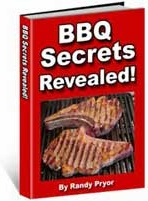 Ebook cover: Barbecue Secrets Revealed