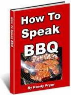 Ebook cover: HOW TO SPEAK BARBECUE