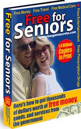 Ebook cover: Free for Seniors