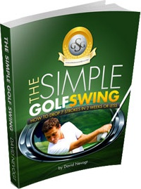 Ebook cover: The Simple Golf Swing